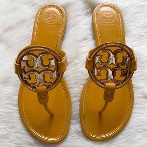 453808f9ea3f Tory Burch · NEW• Tory Burch Metal Miller Sandals
